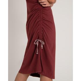 Sherpa Shaanti Robe Femme, ganden red